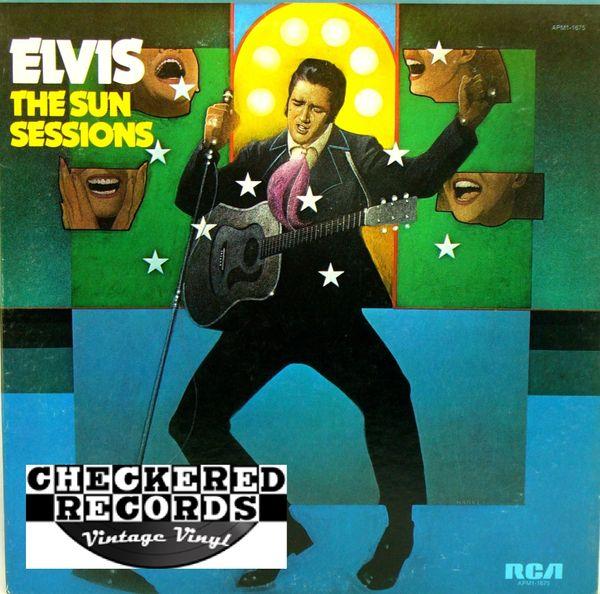 Elvis Presley The Sun Sessions 1976 US RCA Victor APM1-1675 Vintage Vinyl Record Album