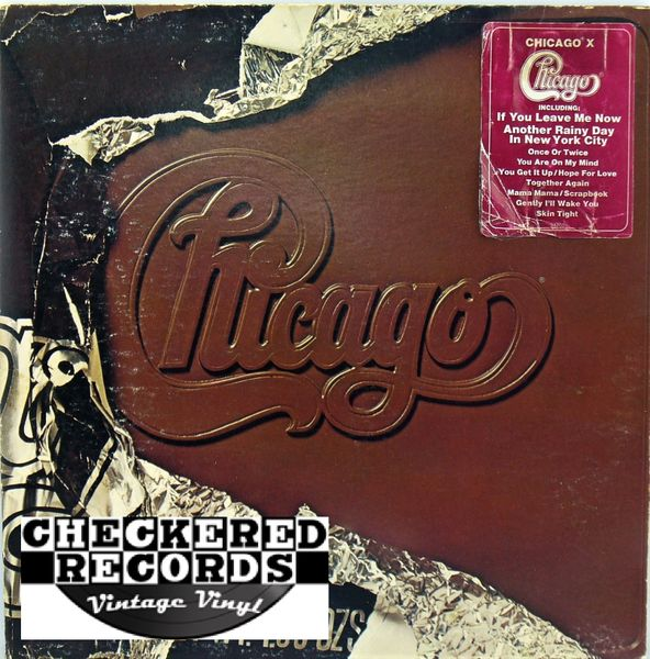 Chicago X Ten First Year Pressing 1976 US Columbia PC 34200 Vintage Vinyl Record Album
