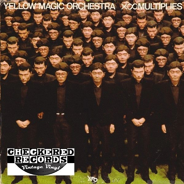 Vintage Yellow Magic Orchestra X∞Multiplies First Year Pressing 1980 US A&M Records SP-4813 Vintage Vinyl LP Record Album