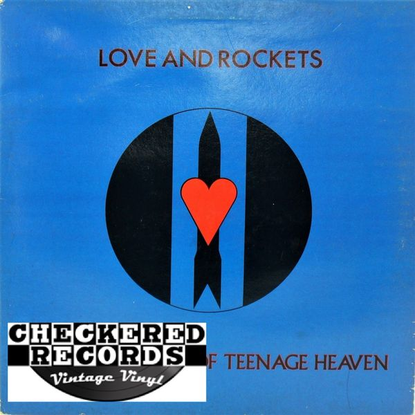 Love and Rockets Seventh Dream Of Teenage Heaven First Year Pressing 1985 UK Beggers Banquet BEGA 66 Vintage Vinyl Record Album
