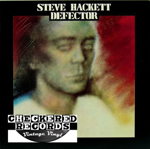 Steve Hackett Defector First Year Pressing 1980 US Charisma Mercury CL-1-3103 Vintage Vinyl Record Album
