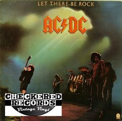 AC/DC Let There Be Rock First Year Pressing 1977 US ATCO SD 36-151 Vintage Vinyl Record Album