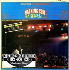 Nat King Cole At The Sands First Year Pressing 1966 US Capitol SMAS 2434 Vintage Vinyl Record Album