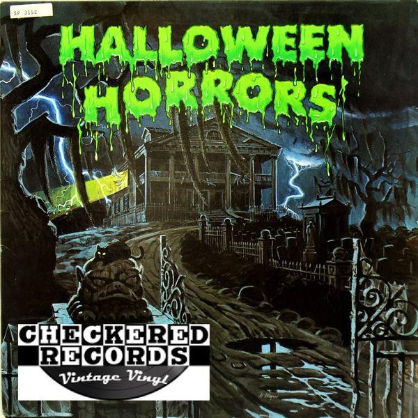 J. Robert Elliott The Sounds Of Halloween First Year Pressing 1977 US A&M SP 3152 Vintage Vinyl Record Album