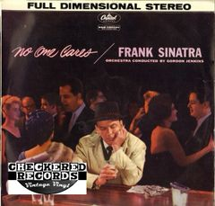Vintage Frank Sinatra No One Cares Second Year Pressing 1960 US Capitol Records SW 1221 Vintage Vinyl LP Record Album