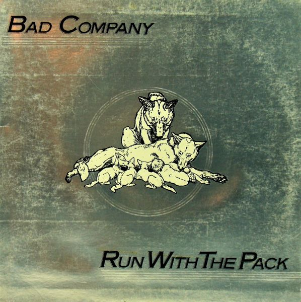 Bad Company Run With The Pack First Year Pressing 1976 US Swan Song SS 8415 Vintage Vinyl Record Album