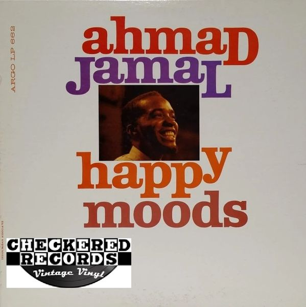 Ahmad Jamal ‎Happy Moods MONO First Year Pressing 1960 US Argo LP 662 Vintage Vinyl Record Album