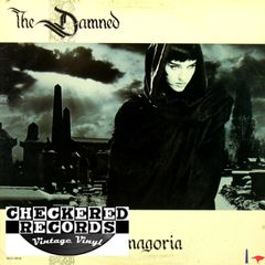 The Damned Phantasmagoria First Year Pressing 1985 US MCA Records MCA-39039 Vintage Vinyl Record Album