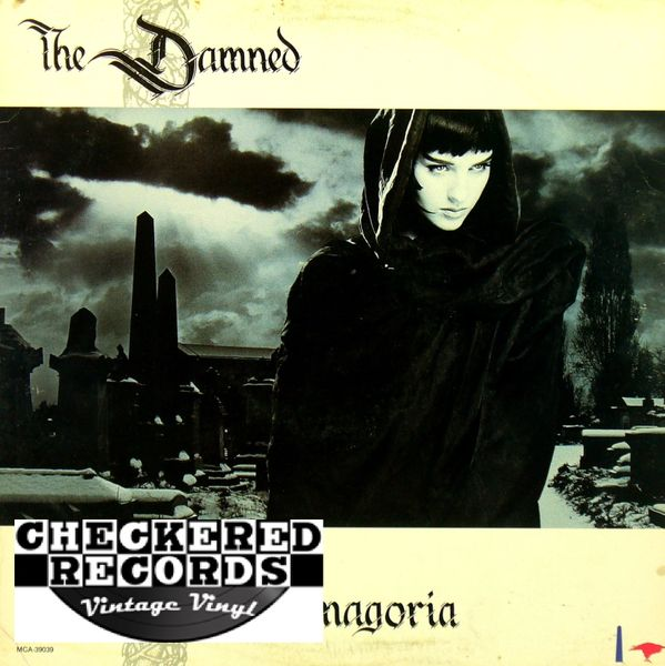 The Damned Phantasmagoria First Year Pressing 1985 US MCA Records MCA-39039 Vintage Vinyl Record Album