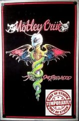 Vintage 1989 Motley Crue Dr. Feelgood Black Light Poster