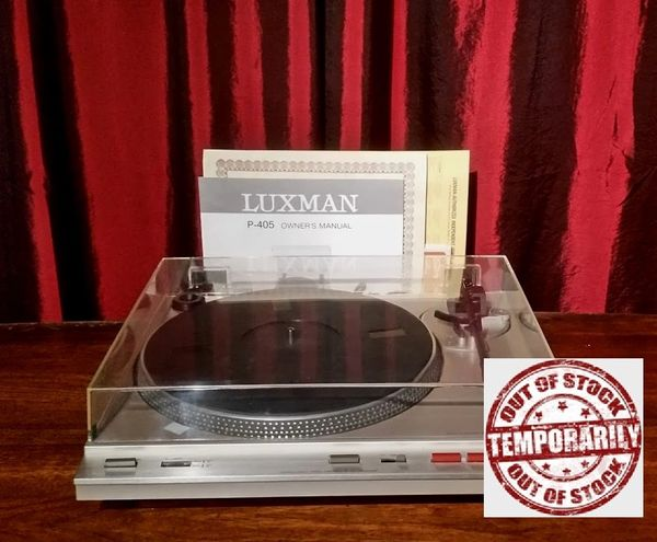Vintage Luxman P-405 Fully Automatic Belt Drive Turntable