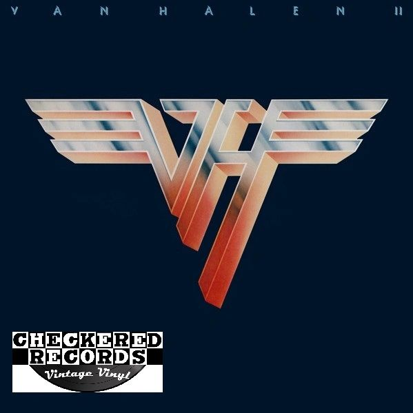 Vintage Van Halen Van Halen II First Year Pressing 1979 US Warner Bros. Records HS 3312 Vintage Vinyl LP Record Album