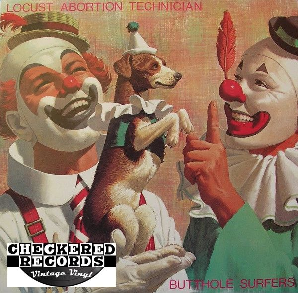 Butthole Surfers Locust Abortion Technician First Year Pressing 1987 US Touch And Go T&GLP#19 Vintage Vinyl Record Album