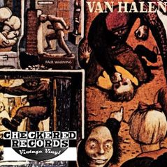 Van Halen Fair Warning First Year Pressing 1981 US Warner Bros. Records HS 3540 Vintage Vinyl Record Album