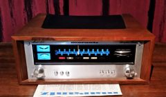 Vintage 1976 Marantz 125 Solid State AM/FM Stereophonic Tuner Excellent