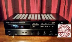 Vintage Denon DRA-545R AM/FM Audio Video Stereo Receiver Amplifier With Phono Hook Up