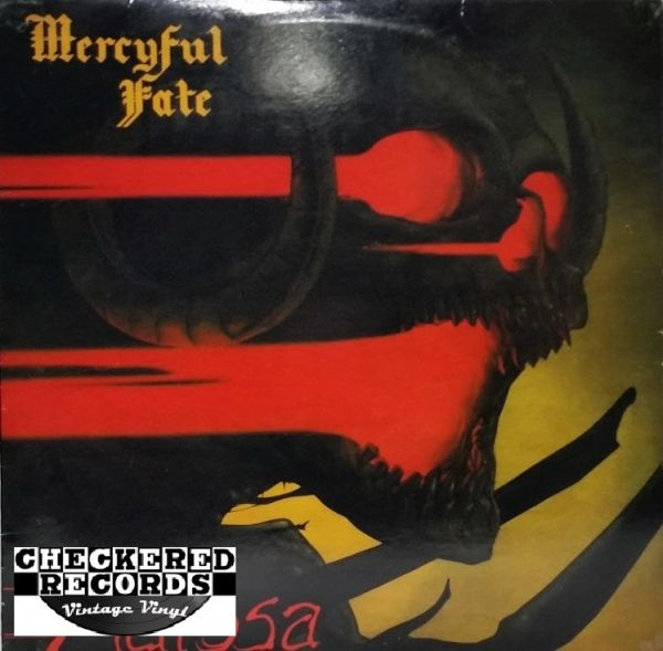 Mercyful Fate Melissa First Year Pressing 1983 US Megaforce Records MRI-369 Vintage Vinyl Record Album