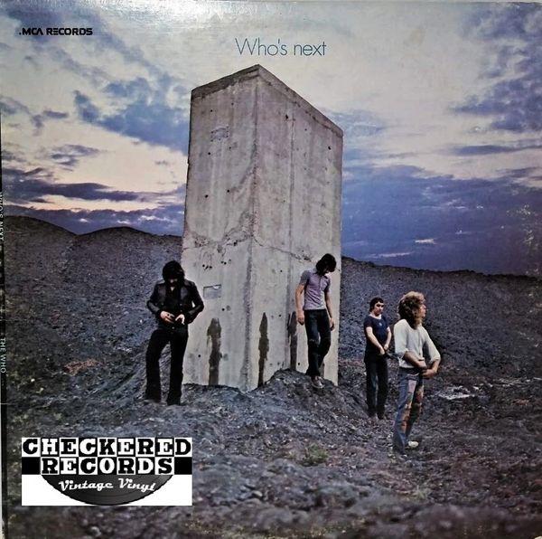 The Who Who's Next 1973 US MCA Records MCA-3024 Vintage Vinyl Record Album