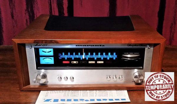 Vintage 1976 Marantz 125 Solid State AM/FM Stereophonic Tuner Excellent