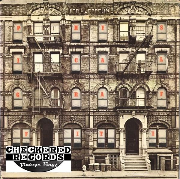 Led Zeppelin Physical Graffiti First Year Pressing 1975 US Swan Song SS 2-200 Vintage Vinyl Record Album