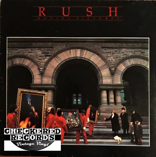 Rush Moving Pictures First Year Pressing 1981 US Mercury SRM-1-4013 Vintage Vinyl Record Album
