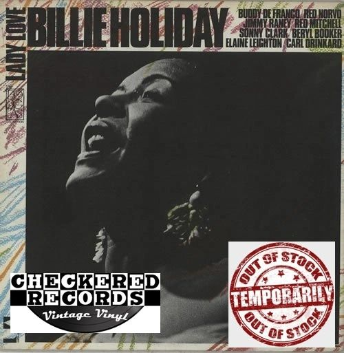 Billie Holiday Lady Love 1972 Pressing 1072 US United Artists Records UAS 5635 Vintage Vinyl Record Album