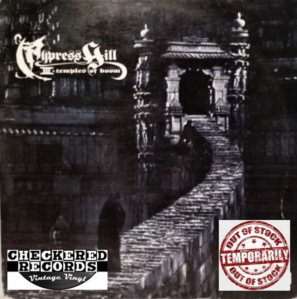 Cypress Hill III (Temples Of Boom) First Year Pressing 1995 US Ruffhouse Records Columbia C2 66991 Vintage Vinyl Record Album