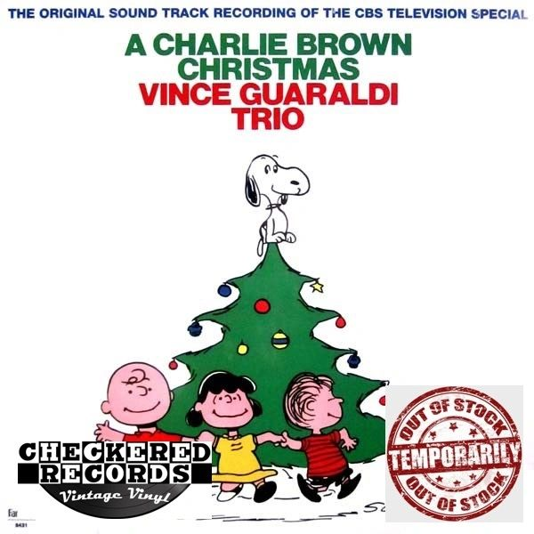Vince Guaraldi Trio A Charlie Brown Christmas Fantasy ‎8431 Vintage Vinyl Record Album