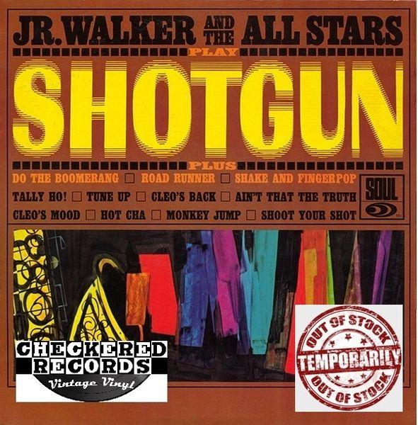 Vintage Jr. Walker And The All Stars Shotgun First Year Pressing 1965 US Soul SOUL 701 Vintage LP Vinyl Record Album
