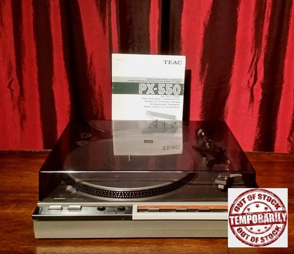 Vintage TEAC PX-550 Direct Drive Turntable