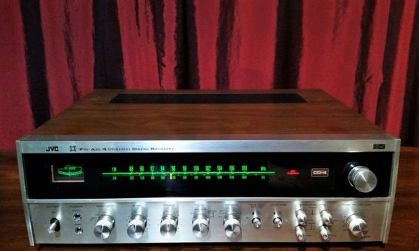 JVC 4VR-5426X 4 Channel Quadrophonic Receiver With CD4 Demodulator