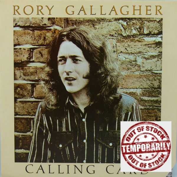 Rory Gallagher ‎Calling Card First Year Pressing 1976 US Chrysalis ‎CHR 1124 Vintage Vinyl Record Album