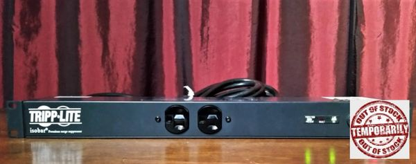 Tripp Lite IBAR12 Rack Mount Transient Voltage Surge Protector