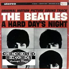 The Beatles A Hard Day's Night 1975 US United Artists Records UAS 6366 Vintage Vinyl LP Record Album
