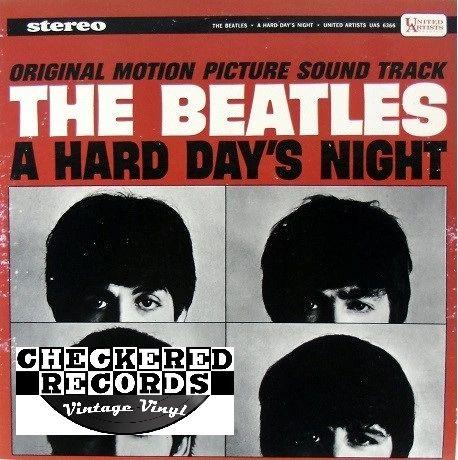 The Beatles A Hard Day's Night 1975 US United Artists Records UAS 6366 Vintage Vinyl LP Record Album
