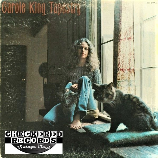 Carole King ‎Tapestry First Year Pressing 1971 US Ode Records SP 77009 Vintage Vinyl Record Album