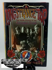 Vintage 2002 First Edition Grateful Dead A Long Strange Trip The Inside History Of The Grateful Dead Dennis McNally Broadway Books