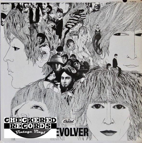 The Beatles Revolver 1971 Apple Records ST 2576 Vintage Vinyl Record Album