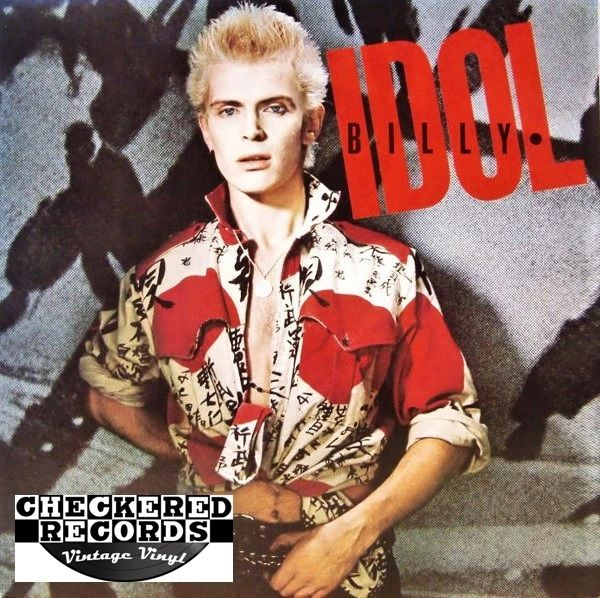 Billy Idol Billy Idol Self Titled First Year Pressing 1982 US Chrysalis CHR 1377 Vintage Vinyl Record Album