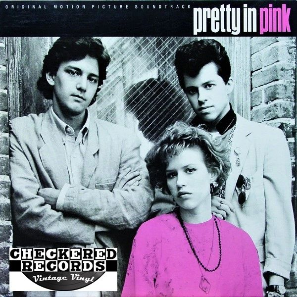 Pretty In Pink Motion Picture Soundtrack First Year Pressing 1986 US A&M Records ‎SP-5113 Vintage Vinyl Record Album