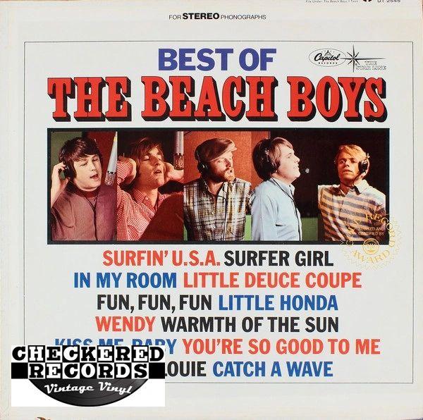 The Beach Boys Best Of The Beach Boys 1972 US Starline DT 2545 Vintage Vinyl Record Album