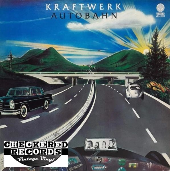Kraftwerk Autobahn First Year Pressing 1974 US Vertigo VEL-2003 Vintage Vinyl Record Album