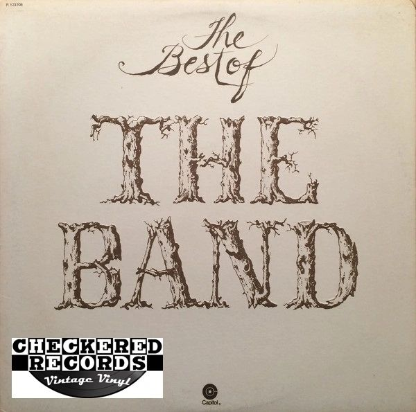 The Band ‎The Best Of The Band First Year Pressing 1976 US Capitol Records ST-11553 Vintage Vinyl Record Album