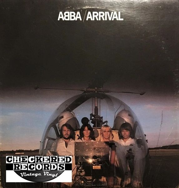 ABBA ‎Arrival First Year Pressing 1976 US Atlantic ‎SD 18207 Vintage Vinyl Record Album