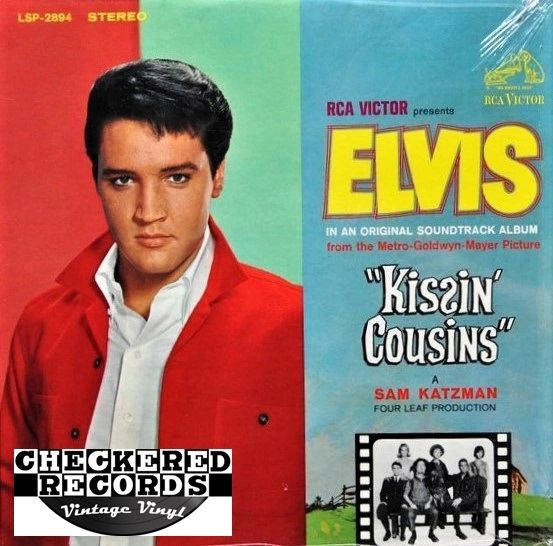 Elvis Presley Kissin' Cousins First Year Pressing 1964 RCA Victor LSP-2894 Vintage Vinyl Record Album