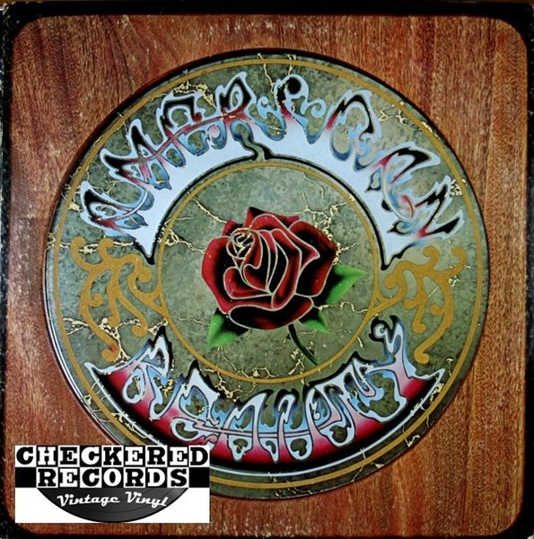 Grateful Dead American Beauty MISPRINT Version First Year Pressing 1970 US Warner Bros. Records ‎WS 1893 Vintage Vinyl Record Album