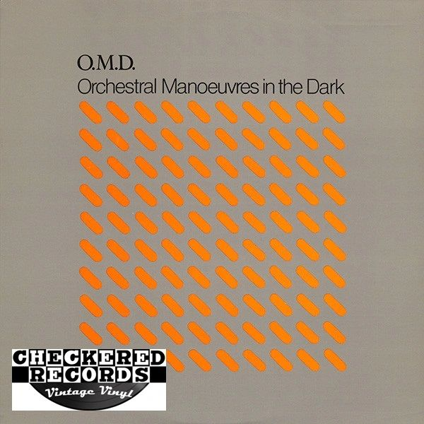 Orchestral Manoeuvres In The Dark O.M.D. First Year Pressing 1981 US Epic FE 37411 Vintage Vinyl Record Album