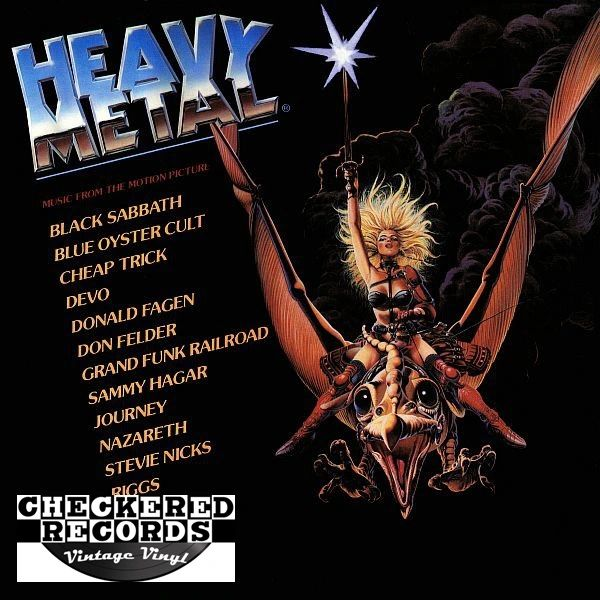 Heavy Metal Music From The Motion Picture First Year Pressing 1981 US Full Moon Asylum Records ‎DP 90004 Vintage Vinyl Record Album