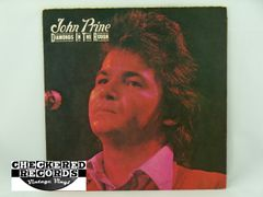 Vintage John Prine Diamonds In The Rough First Year Pressing Atlantic SD 7240 1972 NM Vintage Vinyl LP Record Album