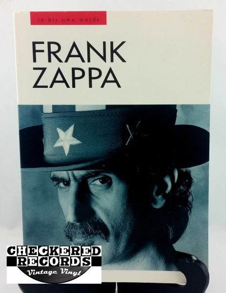 Vintage 1993 First Edition Frank Zappa In His Own Words Barry Miles Omnibus Press Paperback Book